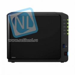 "NAS-сервер Synology DiskStation DS416, 4xHDD3,5"", 2х1000Base-T, без дисков"
