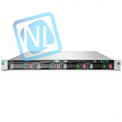 Сервер HP Proliant DL360p Gen8, процессор Intel Xeon 10C E5-2670v2 2.50GHz, 16GB DDR3 DRAM, 8SFF, P420i/1GB FBWC