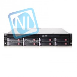 Сервер HP ProLiant DL180 G6, 2 процессора Intel 6C X5650 2.6GHz, 48GB DRAM, 8 отсеков под HDD, Smart Array P410i