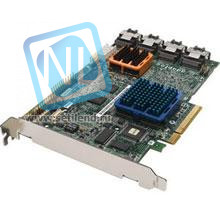 Контроллер Adaptec 256MB PCI-E x8 SAS/SATAII, RAID, 16port(int 4*SFF8087)-2252900-R(NEW)