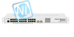 Коммутатор Cloud Router Switch Mikrotik CRS226-24G-2S+RM