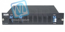 Модуль Add/Drop SNR-CWDM-DRP1-10GR-1330/1410 в 1/2-слоте