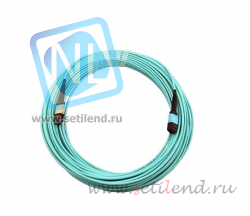 Патч-корд оптический OM4 MTP/MTP Multimode 24 Strand fiber optic cable 5m
