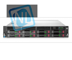 Сервер HP Proliant DL180 Gen9, 1 процессор Intel Xeon 6С E5-2603v3, 8GB DRAM, 8/12LFF, B140i (new)
