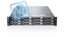 Сервер Dell PowerEdge R720XD, 2 процессора Intel Xeon 10C E5-2680v2 2.80GHz, 64GB DRAM, 12LFF