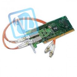 Сетевая карта Intel PRO/1000 MF Dual Port i82546GB 2x1000Base-SX 2x1GB/s Fiber Channel PCI/PCI-X-PWLA8492MFBLK5(NEW)