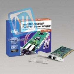 Сетевая карта Intel PRO/1000 MF i82545GM 1000Base-SX 1Гбит/сек Fiber Channel PCI/PCI-X-PWLA8490MF(NEW)