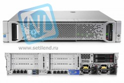 Сервер HP Proliant DL180 Gen9, 1 процессор Intel Xeon 6С E5-2609v3, 8GB DRAM, 4LFF, H240 12Gb SAS (new)