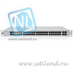 Коммутатор Ubiquiti UniFi Switch PoE 48 порта 750W