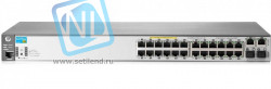 2620-24-PPoE+ Switch (12x10/100, 12x10/100 PoE+, 2x10/100/1000, 2xSFP, managed L3 static, virtual stacking, PoE 128W, 19')