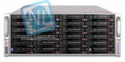 Сервер Supermicro 847E16-R1K28LPB(X9DRH-IF), 2 процессора Intel 8C E5-2660 2.20GHz, 64GB DRAM
