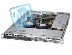 Сервер Supermicro 6017R-TDLRF, 2 процессора Intel Xeon 8C E5-2660 2.20GHz, 64GB DRAM