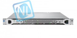 Сервер HP Proliant DL360 Gen9, 1 процессор Intel Xeon 8C E5-2620v4, 16GB DRAM, 8/10SFF, P440ar/2G, 2x300GB SAS(new)