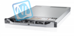 Сервер Dell PowerEdge R620, 2 процессора Intel Xeon 10C E5-2670v2 2.50GHz, 64GB DRAM